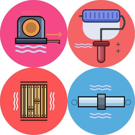 Construction Icon Set Imagens - 71400420