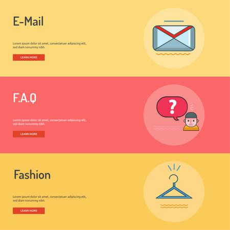 hangers: E-Commerce Conceptual Banner Design