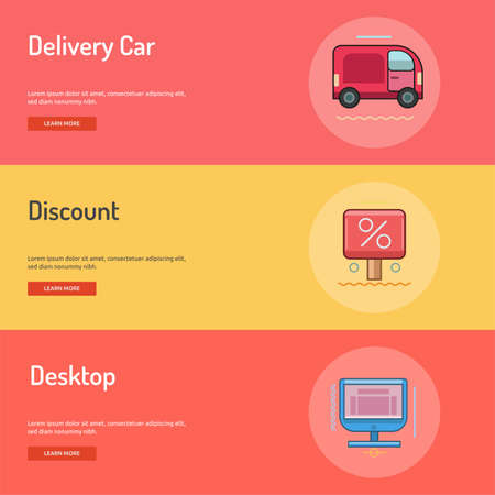 E-Commerce Conceptual Banner Design