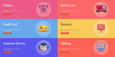 E-Commerce Conceptual Banner Design