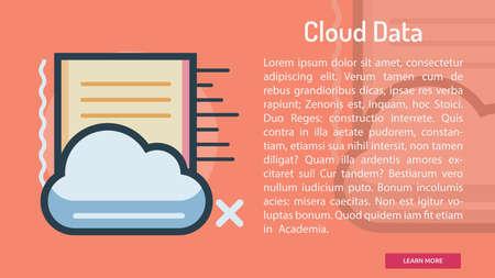 Cloud Data Conceptual Banner