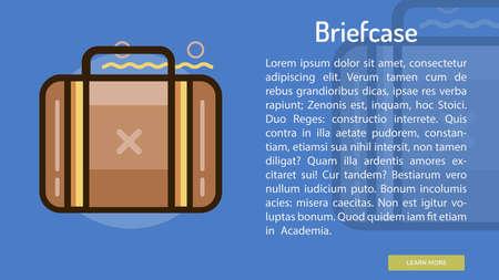 Briefcase Conceptual Banner