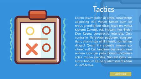 Tactics Conceptual Banner