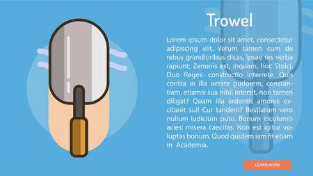 Trowel Conceptual Banner