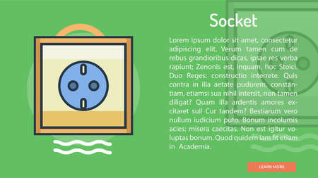 Socket Conceptual Banner