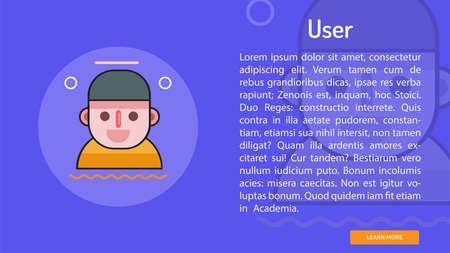 ユーザーの概念バナー