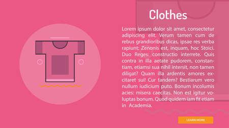 Clothes Conceptual Banner