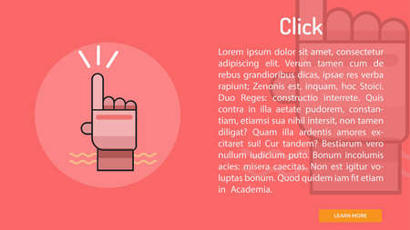 Click Conceptual Banner
