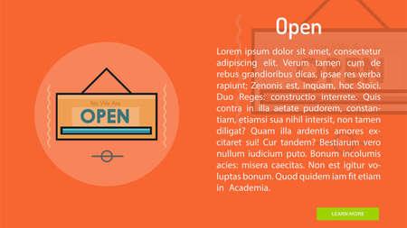 Open Conceptual Banner