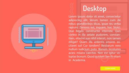 Desktop Conceptual Banner