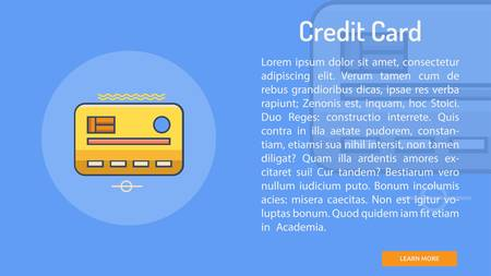 Credit Card Conceptual Banner