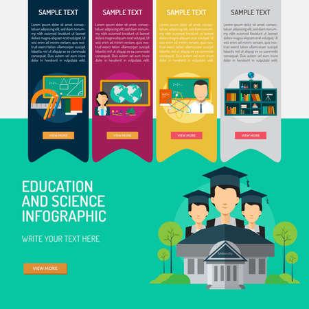 Education and Science Illusztráció