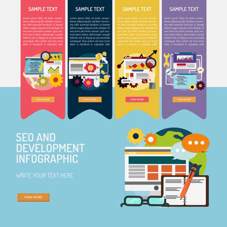 SEO and Development Infographic