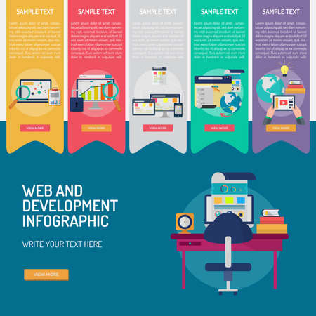 Infographic Web and Development