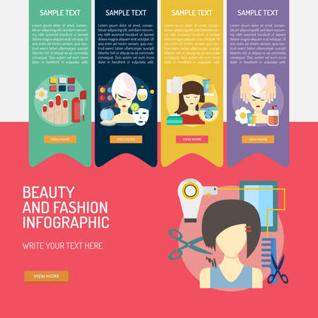 Infographic Beauty and Fashion