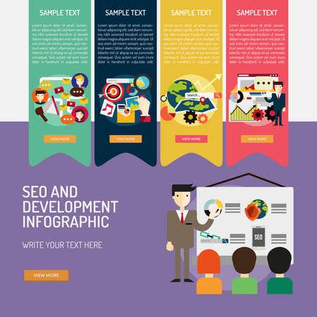 Infographic SEO and Development