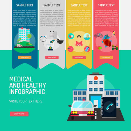 Infographic Medical and Healthy Illustration