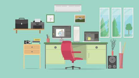Animator Workspace Background