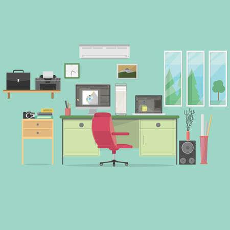 Contexte de l'espace de travail Animator