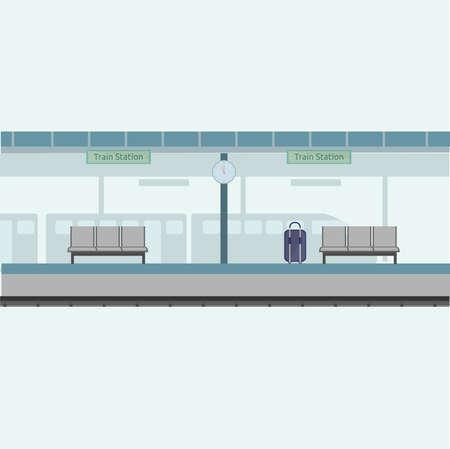 Train Station Background