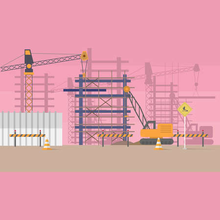 Construction Background Stok Fotoğraf - 75324457