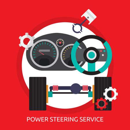 Power Steering Service Conceptual Design