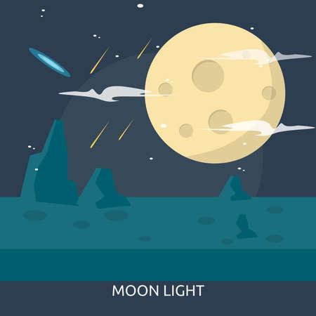 Moon Light Conceptual Design Illusztráció