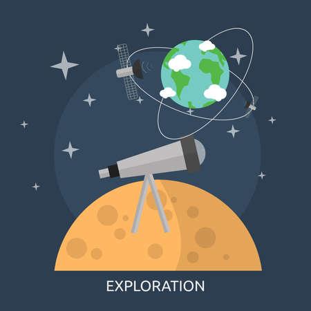 Exploration Conceptual Design Illustration