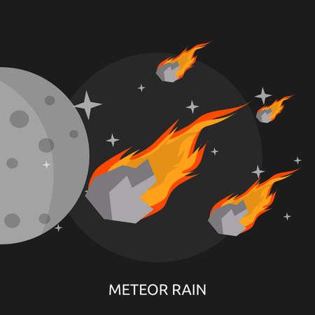 Meteor Rain Conceptual Design Illusztráció