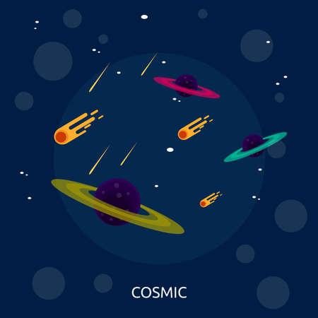 Cosmic Conceptual Design Illusztráció