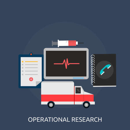 operational: Operational research Conceptual Design Illustration
