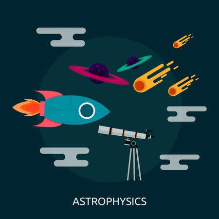 Astrophysics Conceptual Design Illustration