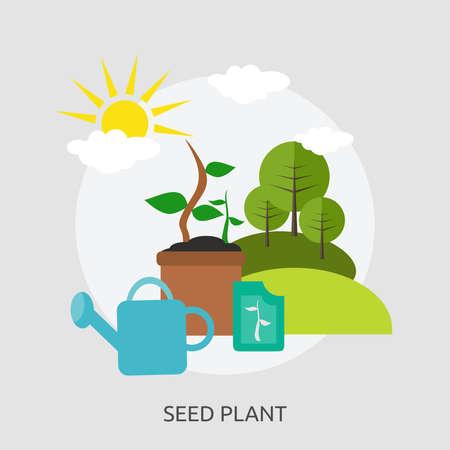 Seed Plant Conceptual Design Illustration
