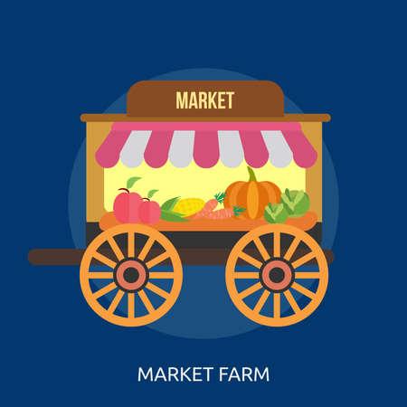 Market Farm Conceptual Design Illustration