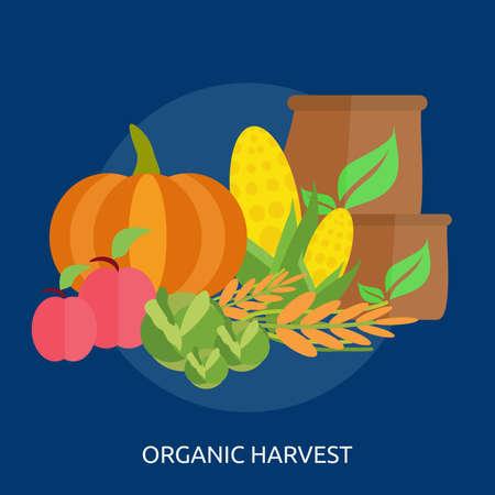 Organisch Harvest Conceptueel Ontwerp