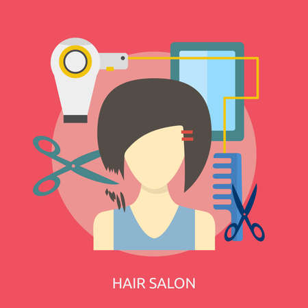 Hair Salon Conceptual Design