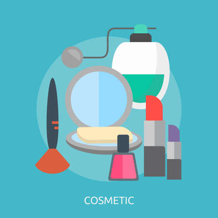Cosmetic Conceptual Design 向量圖像