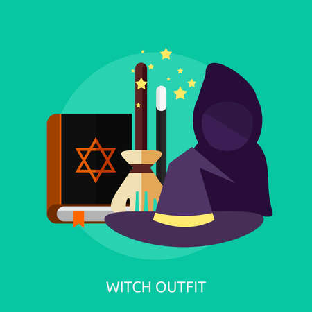 Witch Outfit Conceptual Design