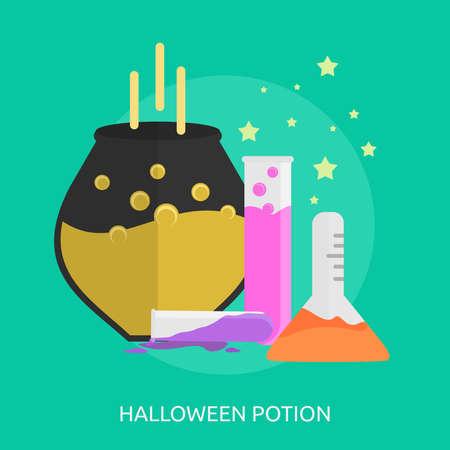 Halloween Potion Conceptual Design