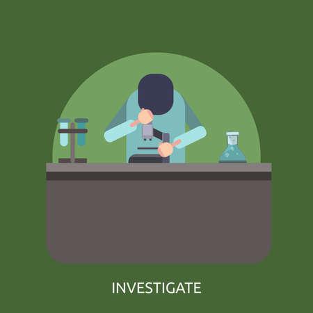 Investigate Conceptual Design Иллюстрация