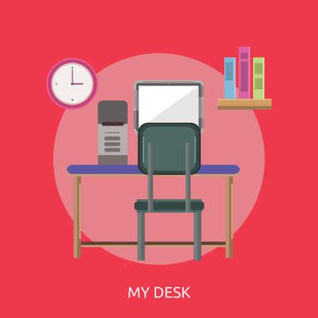 My Desk Conceptual Design
