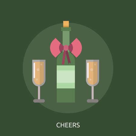 Cheers Conceptual Design Banco de Imagens - 81699369