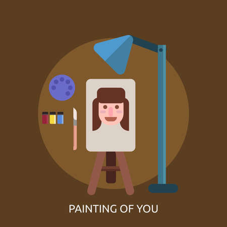 Painting Of You Conceptual Design