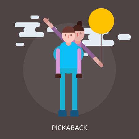 Pickaback Conceptual Design Çizim