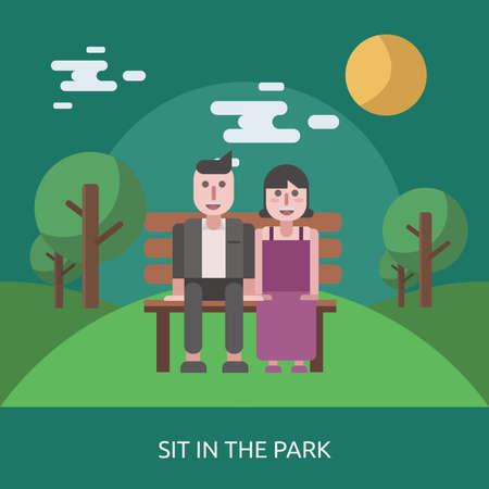 Sit in The Park Conceptual Design