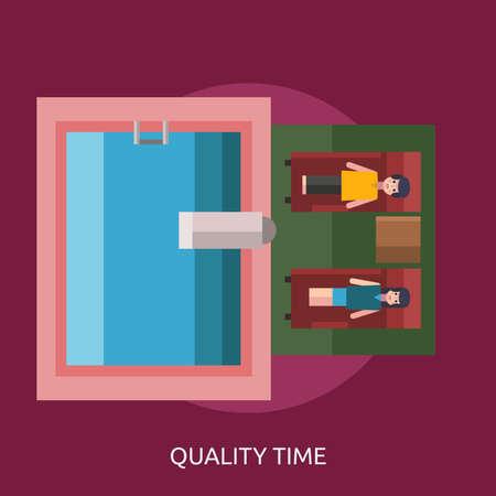 Quality Time Conceptual Design Çizim