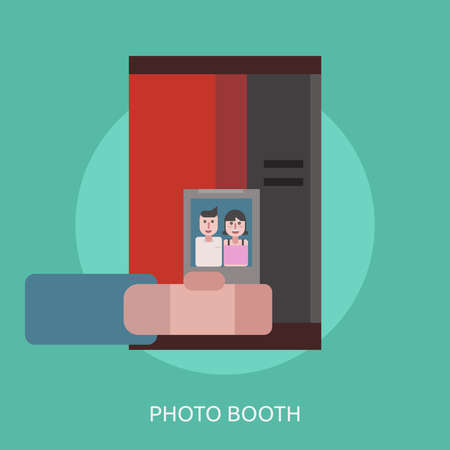 A Photo Booth Conceptual Design. Çizim