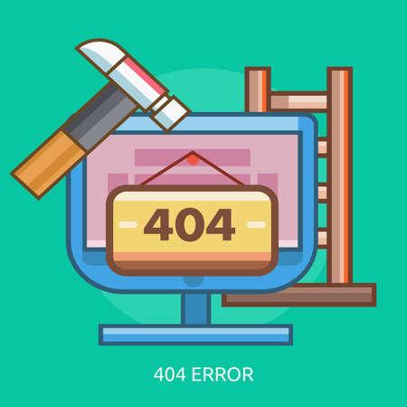 404 Foutconceptueel Ontwerp