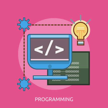 Programming Conceptual Design Ilustrace