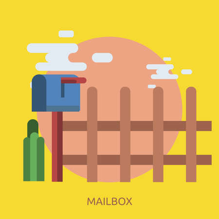 Mailbox Conceptual Design Illustration